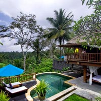 Ubud resorts review, Kamandalu Pool Villa