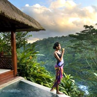 Bali boutique hotels and resorts, Kupu Kupu Barong Ubud