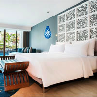 Bali hip hotels, Le Meridien room