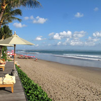 Bali resorts review, The Legian sports a terrific beach