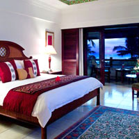 Bali hotels for golf, Pan Pacific Nirwana bedroom