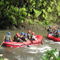 Family fun in Bali, guide to adventure and rafting on the Ayung River