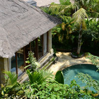 Top Ubud resorts, Royal Pita Maha pool villa