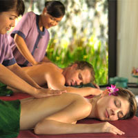 Best Bali spa resorts, Banyan Tree treatment