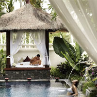 InterContinental Bali massage pavilion