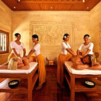 Bali spa resorts, Matahari Beach Resort massage