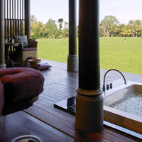 Best Bali spas, Chedi Club at Tanah Gajah spa pavilion