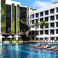 Child-friendly Bali resorts, Stones pool