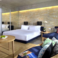 Clean and modern Seminyak hotel, U Paasha room