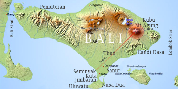 Bali Travel Safety Update Tracking The 25 Nov 2017 Volcano Eruption
