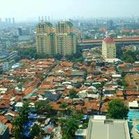 Jakarta guide, view over the city