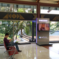 Soekarno-Hatta Airport Jakarta is laid back, bright, and tree-lined