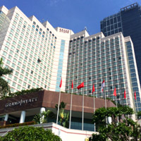 The Grand Hyatt Jakarta Facade - a top MICE and conference address