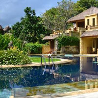 Lombok hotels review, Pool Villa Club on Senggigi Beach