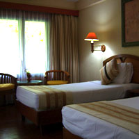 Lombok child-friendly hotels, Senggigi Beach Hotel bedroom