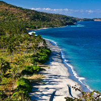 Lombok fun guide for families, Sengiggi Beach