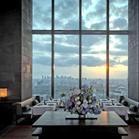 Tokyo luxury hotels review, Aman views