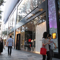 Tokyo shopping for brands at Omotesando