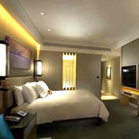 Seoul business hotels, Conrad's Premium River View room