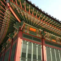 Seoul guide, Deoksugung Palace building detail
