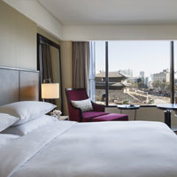 Seoul hotels for corporate meetings, JW Marriott Dongdaemun room