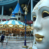 Seoul family fun, the child-friendly Lotte World Adventure indoor theme park