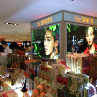 Downtown Seoul Shilla is one of the best spots for duty-free brand shopping and cosmetics