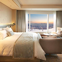 Tallest hotel in Korea, Signiel Seoul Grand Deluxe room