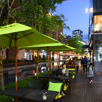 Canal Walk at NC Cube is good for shopping as well as cafes and good dining