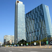Incheon business hotels review, Sheraton is a good Songdo choice close to the Convensia conference centre