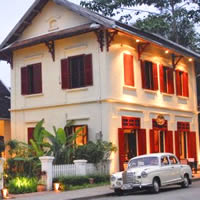 Luang Prabang resorts guide, Three Nagas