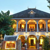 Villa Santi is a popular Luang Prabang boutique hotels pick