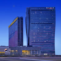 Grand Hyatt at City of Dreams casino playground in Macau with child-friendly facilities