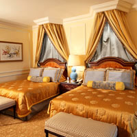 Best Macau casino hotels, Venetian finery in-room