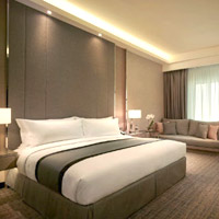 Guide to Kuala Lumpur business hotels downtown, JW Marriott new look room Dec 2017