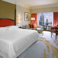 Sheraton Imperial Kuala Lumpur, among the best KL business hotels, Deluxe Twin Tower room