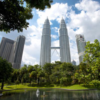 Kuala Lumpur business hotels, Mandarin Oriental is next to the Twin Towers