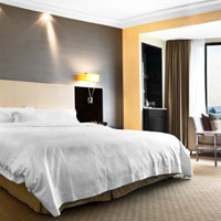 Westin Premium City View Room compares well vs JW Marriott