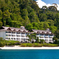 Langkawi spa resorts, Andaman beach
