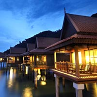 Langkawi family friendly resorts,  Berjaya Premier Chalet over water