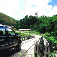 Sabah guide, driving around the hill country