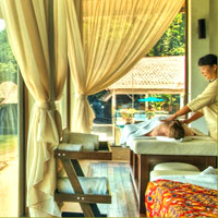Sabah dive resorts, Gayana Eco Resort spa treatment