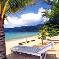 Tioman beach, Babura Resort