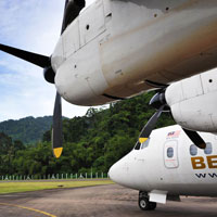 Berjaya Air is one way to get to the island