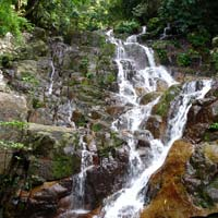 Tioman fun guide for families, Mukut waterfall