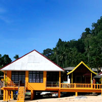 Tioman resorts review, Sun Beach Resort