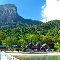 Tioman resorts review, Tunamaya has a great location
