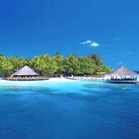Angsana Ihuru is a child-friendly Maldives hotel with a walk-in reef