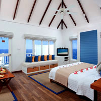 Maldives resorts for weddings, Centara Grand villa