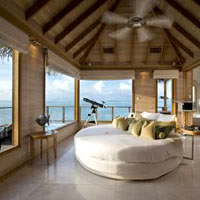 Best Maldives resorts, Conrad Maldives Sunset Water Villa with 270 degree views
